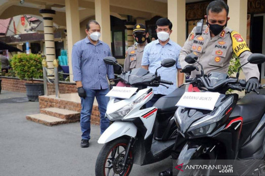 Polres Madiun Kota tangkap sepasang kekasih curi sepeda motor