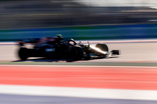 Kecepatan Bottas belum tersaingi, Mercedes dominasi latihan GP Rusia