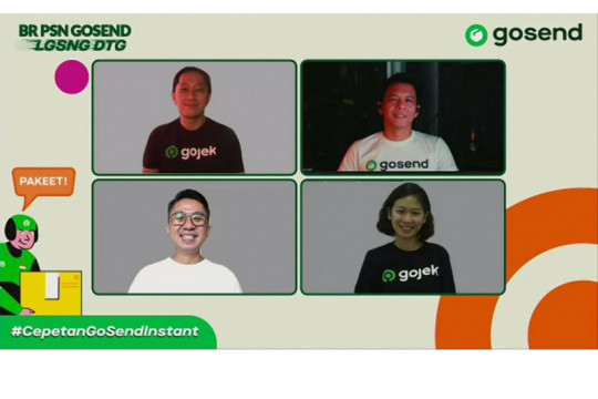 GoSend hadirkan inisiatif #CepetanGoSendInstan untuk jangkau pelanggan