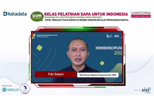 """UMKM perlu manfaatkan platform digital berdasarkan """"trade area"""""""