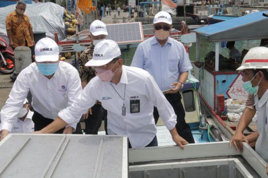 INKA-Kemenko Marves kembangkan peti kemas berpedingin untuk ikan laut