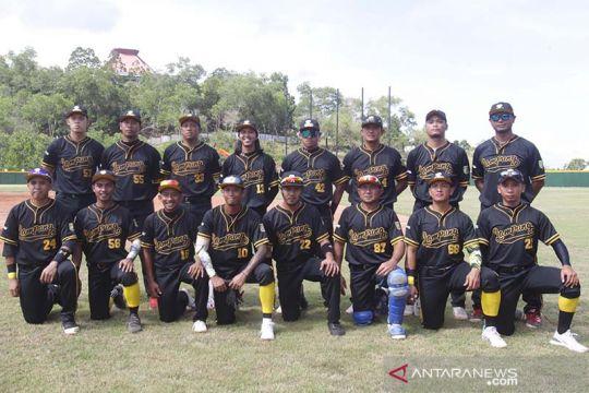 Bisbol Lampung awali PON Papua dengan lumat Kalteng 23-0