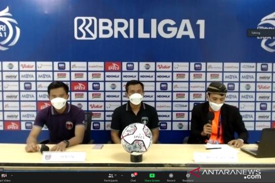 Pelatih Persita evaluasi kekalahan dari Bali United