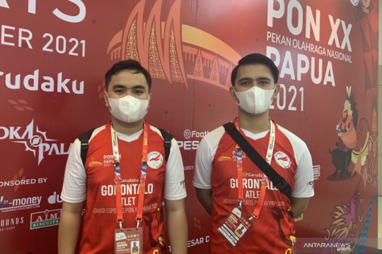 Gorontalo bawa pulang perunggu eFootball PES PON Papua