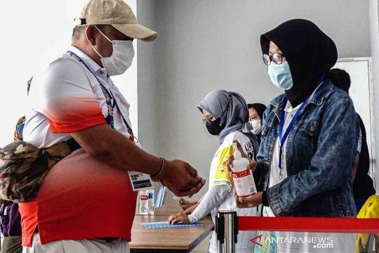 Penerapan protokol kesehatan di arena PON Papua