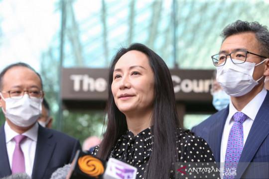 Huawei luncurkan piranti lunak bersamaan kebebasan Meng