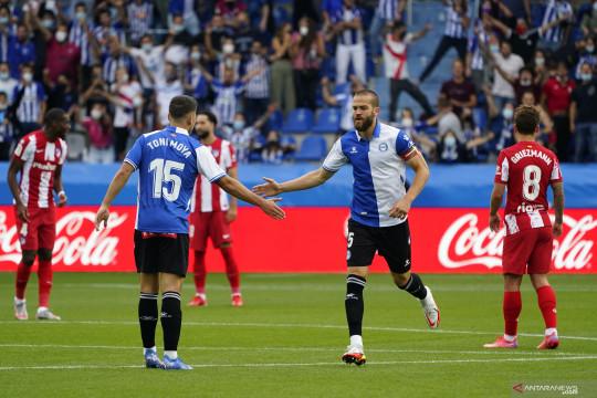 Atletico Madrid takluk di kandang Alaves dengan skor 1-0