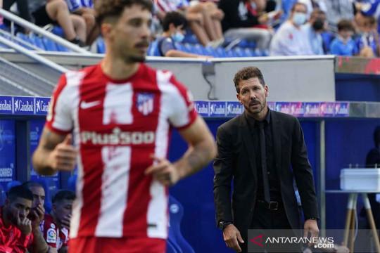 Liga Spanyol : Atletico kalah dari Deportivo Alaves 0-1