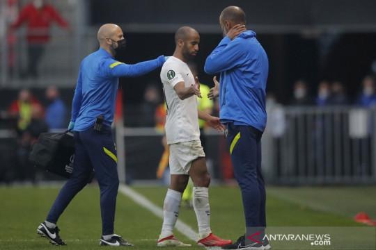 Lucas Moura bisa merumput lagi bersama Tottenham dalam derbi London