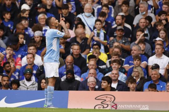 Gabriel Jesus antar Manchester City torehkan kekalahan perdana Chelsea