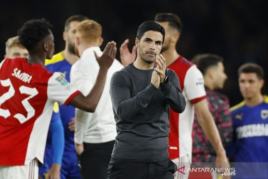 Jelang derbi London kontra Tottenham, Arteta sanjung suporter Arsenal