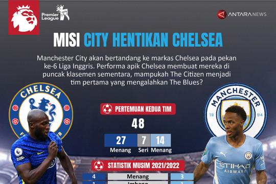 Misi City hentikan Chelsea