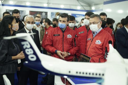 Wapres, Ketua Parlemen Turki kunjungi pameran teknologi Indonesia