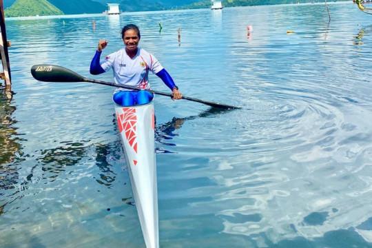Atlet dayung Vany Ibo bangga PON digelar di Papua