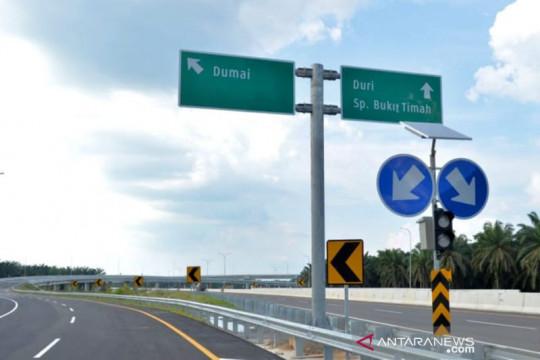 Sebanyak 86 kasus kecelakaan 11 meninggal di Tol Pekanbaru-Dumai