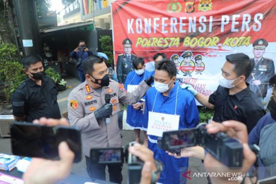 Polresta Bogor Kota tangkap komplotan penipu berkedok wisatawan asing
