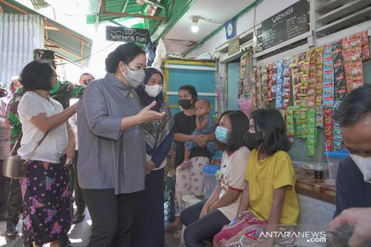 Puan pantau vaksinasi di wilayah Tambora