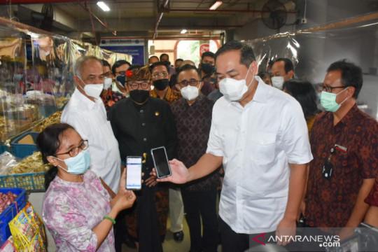 Mendag Muhammad Lutfi pantau pasar rakyat di Denpasar
