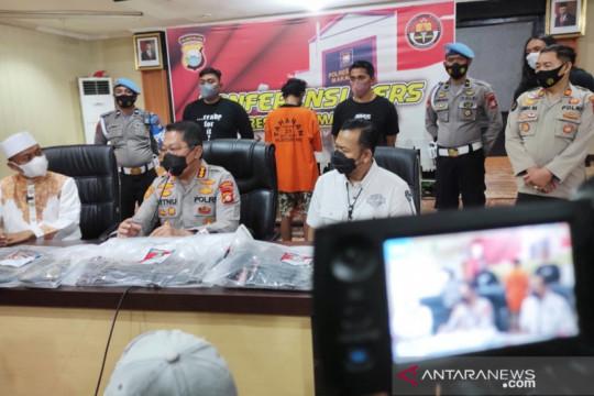 Polisi tangkap pelaku pembakar mimbar Masjid Raya Makassar