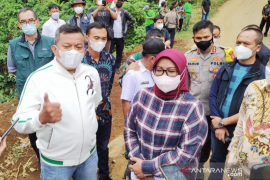 Ajak DPR tinjau lokasi, Bupati Bogor minta bantuan bangun Puncak II