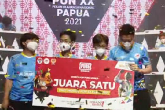 DKI Jakarta sabet emas PUBG Mobile ekshibisi esport PON Papua