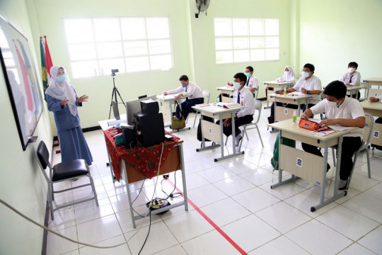 Dispendik: Evaluasi PTM di Surabaya selama dua pekan berjalan baik
