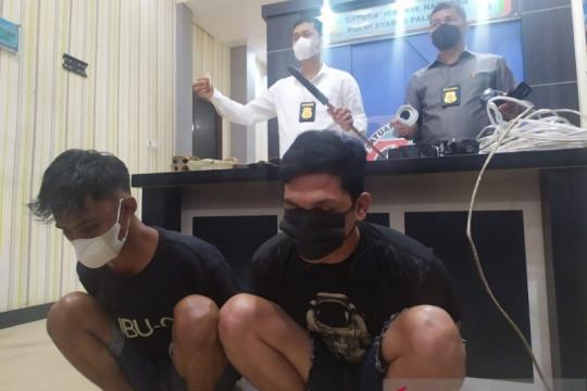 Polisi sergap kawasan diduga sarang peredaran narkoba di Palembang