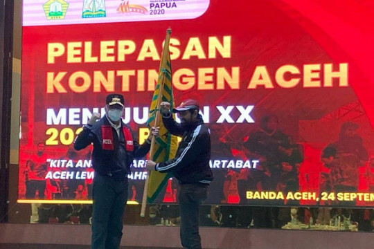 Gubernur Aceh minta atlet maksimalkan potensi raih emas PON Papua
