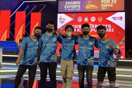Kalimantan Barat kemas emas Mobile Legends eksibisi esport PON Papua
