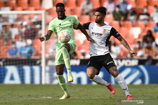 Marcos Andre antar sepuluh pemain Valencia imbangi Bilbao