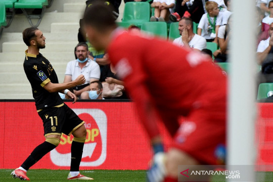 Nice kembali ke jalur kemenangan sambil perburuk catatan Saint-Etienne