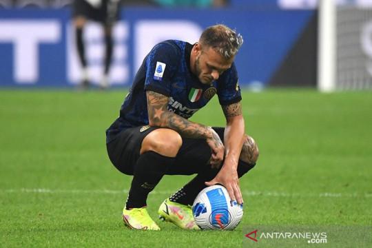 Gagal manfaatkan penalti, Inter cuma main imbang lawan Atalanta