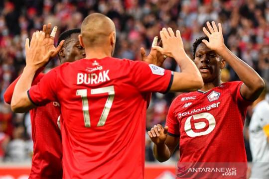 Lille bukukan kemenangan beruntun pertama saat pecundangi Strasbourg