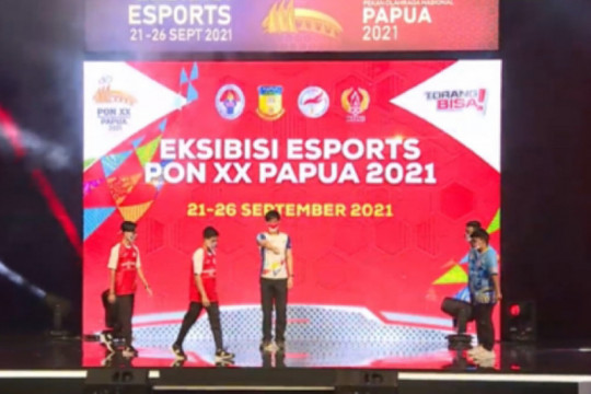 Jawa Barat rebut emas PES esport PON Papua