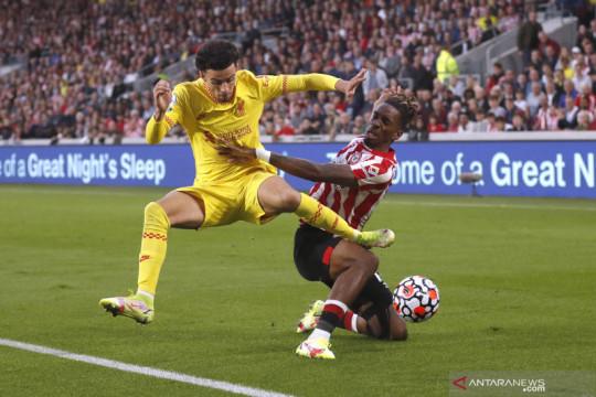 Liga Inggris:  Brentford vs Liverpool berakhir imbang