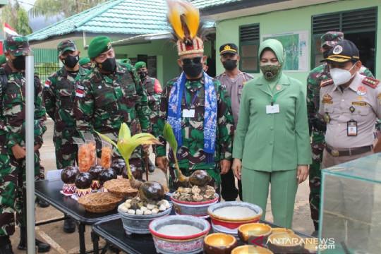 Pangdam I Bukit Barisan tinjau Satgas Pamtas Yonif 131/Brs di Papua