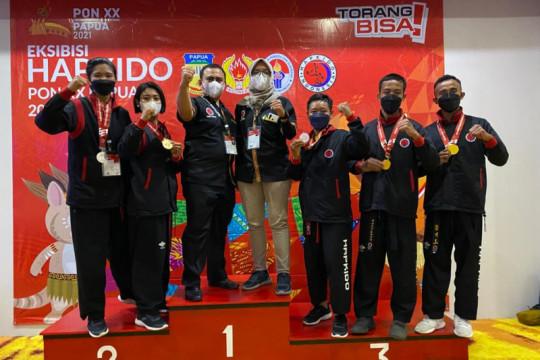 Lampung juara umum hapkido PON Papua