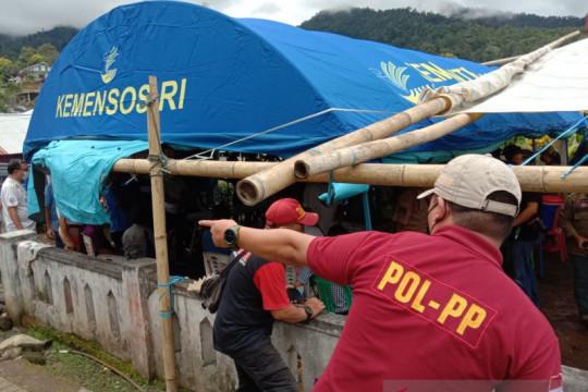 Bantuan korban banjir bandang Minahasa Tenggara dipantau Kemensos