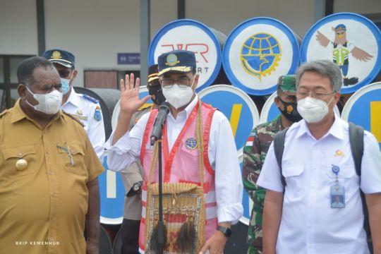 Kemenhub komitmen tingkatkan konektivitas di Kabupaten Asmat Papua