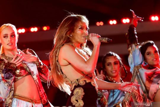 Jennifer Lopez tampil di konser Global Citizen Live 2021