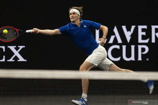 Tenis Piala Laver: Alexander Zverev kalahkan John Isner