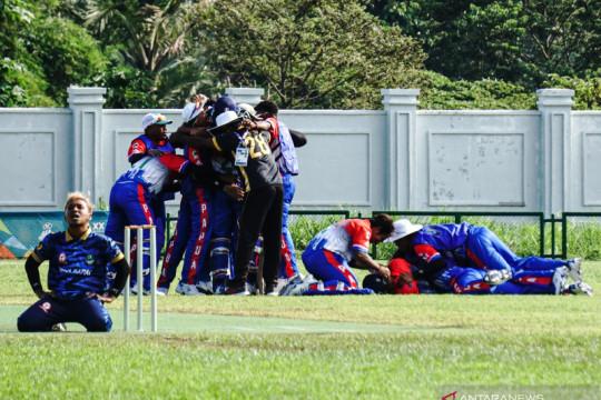 PON Papua-Gubernur Papua apresiasi kriket persembahkan emas perdana