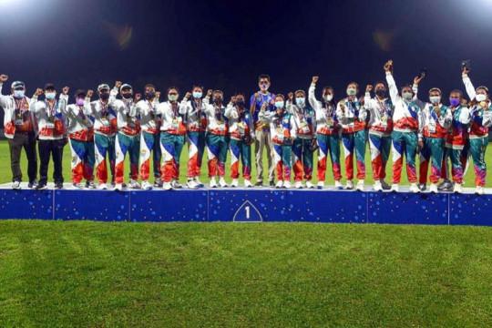 Papua dan Bali berbagi emas di Kriket Super Sixies