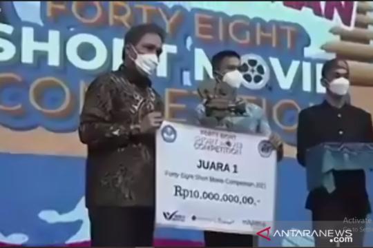 """Ondel Oh Ndel"" karya SMAN 48 Jakarta sabet juara I FESMOC 2021"