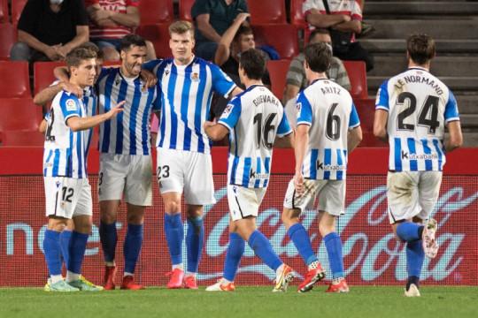 Hasil Liga Spanyol, Sociedad ke posisi dua setelah tekuk Elche 1-0