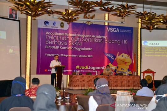 Yogyakarta latih 107 talenta digital muda penuhi kebutuhan dunia kerja
