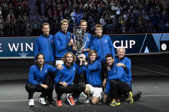 Tim Eropa untuk keempat kali berturut-turut juarai Piala Laver