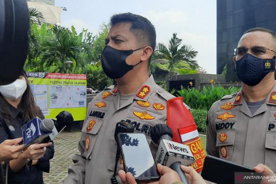 Ratusan personel gabungan kawal demo BEM SI di KPK