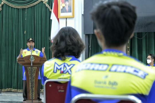 Wagub Uu minta tim balap motor Jabar tampil maksimal dalam PON Papua