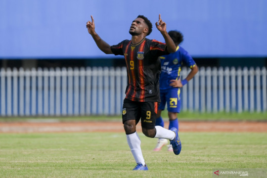 Sepak bola putra Papua awali PON dengan tuntaskan revans atas Jabar